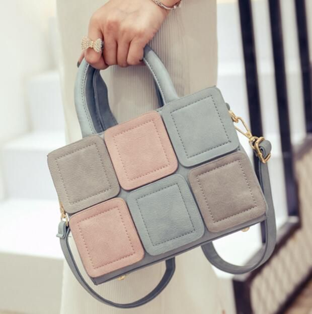 43057f8e0a2b  Visit to Buy  MIWIND Fashion women colorful bag spring summer color block small  handbag cross body casual shoulder messenger bag candy color