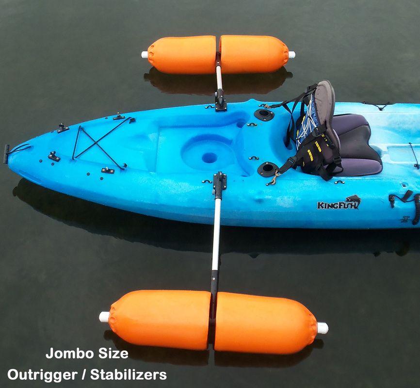 Kayak Motor Kayak Motors Kayak Trolling Motors Fishing Kayaks With Trolling Motors Best Idea Yet To Fish Comfortably Kayak Outriggers Kayaking Angler Kayak