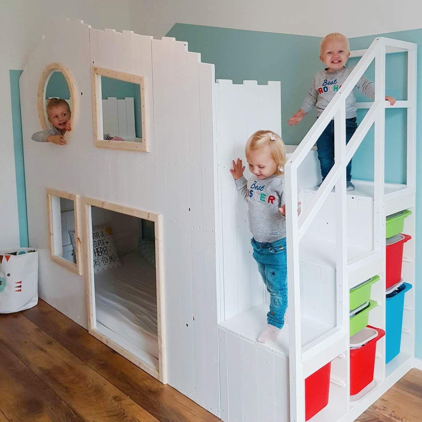 DIY Baumhaus Hochbett – IKEA Kura Hack