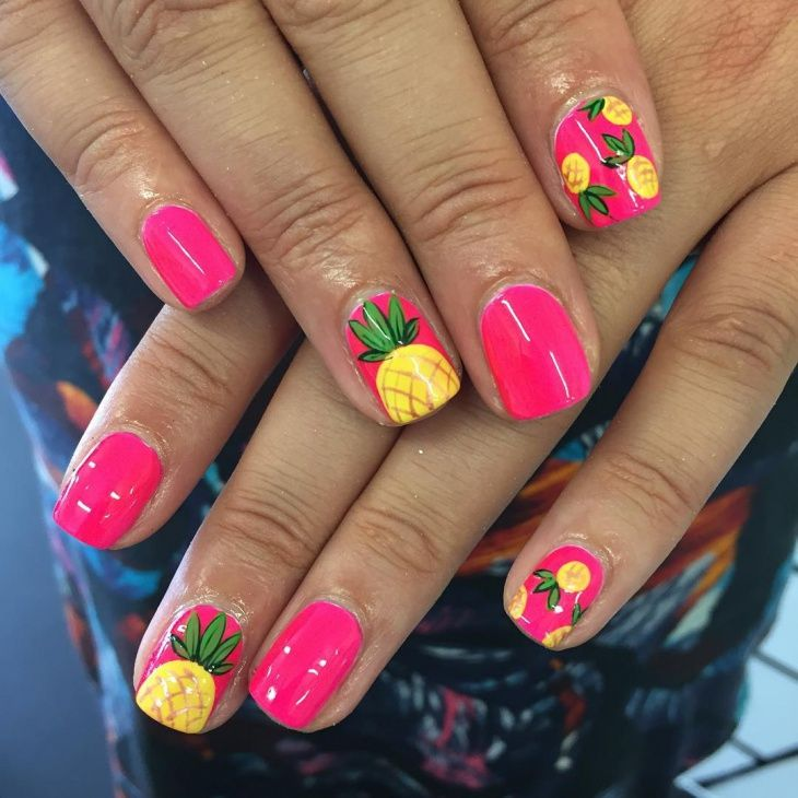 Advanced Nail Art: Resultado De Imagen Para Pineapple Nails