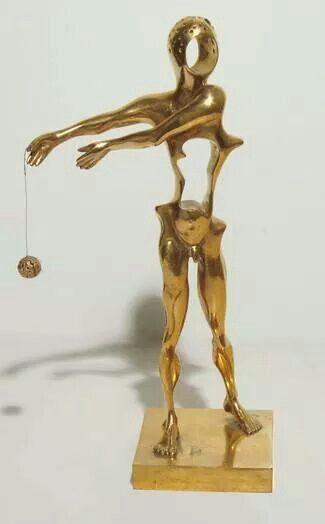 Homage to Newton. Salvador Dali.