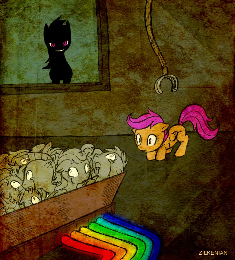 Mlp Rainbow Factory By Zilkenian On Deviantart My Little Pony Cartoon Pony Drawing Mlp Pony