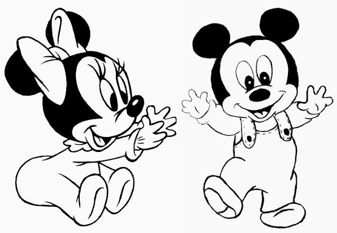 Pin De Stella Ribeiro Em Minnie E Mickey