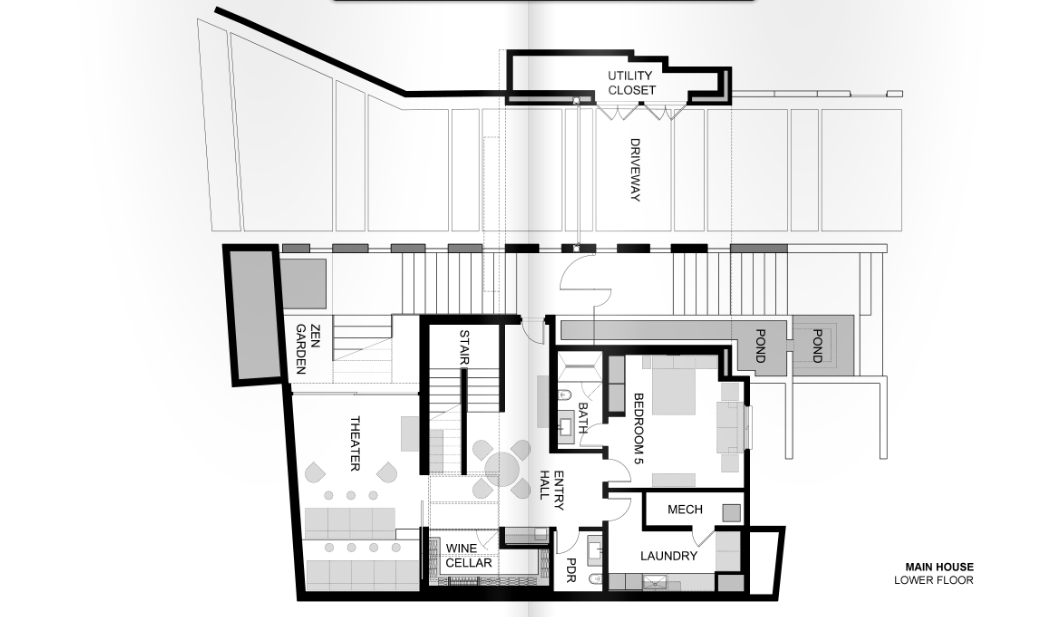Floor Plans To 1201 Laurel Way In Beverly Hills Ca