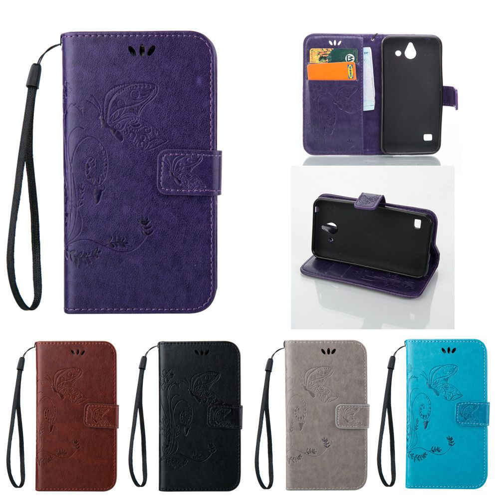 >> Click to Buy << Butterfly Pattern Case for Huawei Ascend Y550 Y 550 L01 L02 L03 Huawei Y550-L01 Y550-L02 Y550-L03 Flip Case Phone Leather Cover #Affiliate