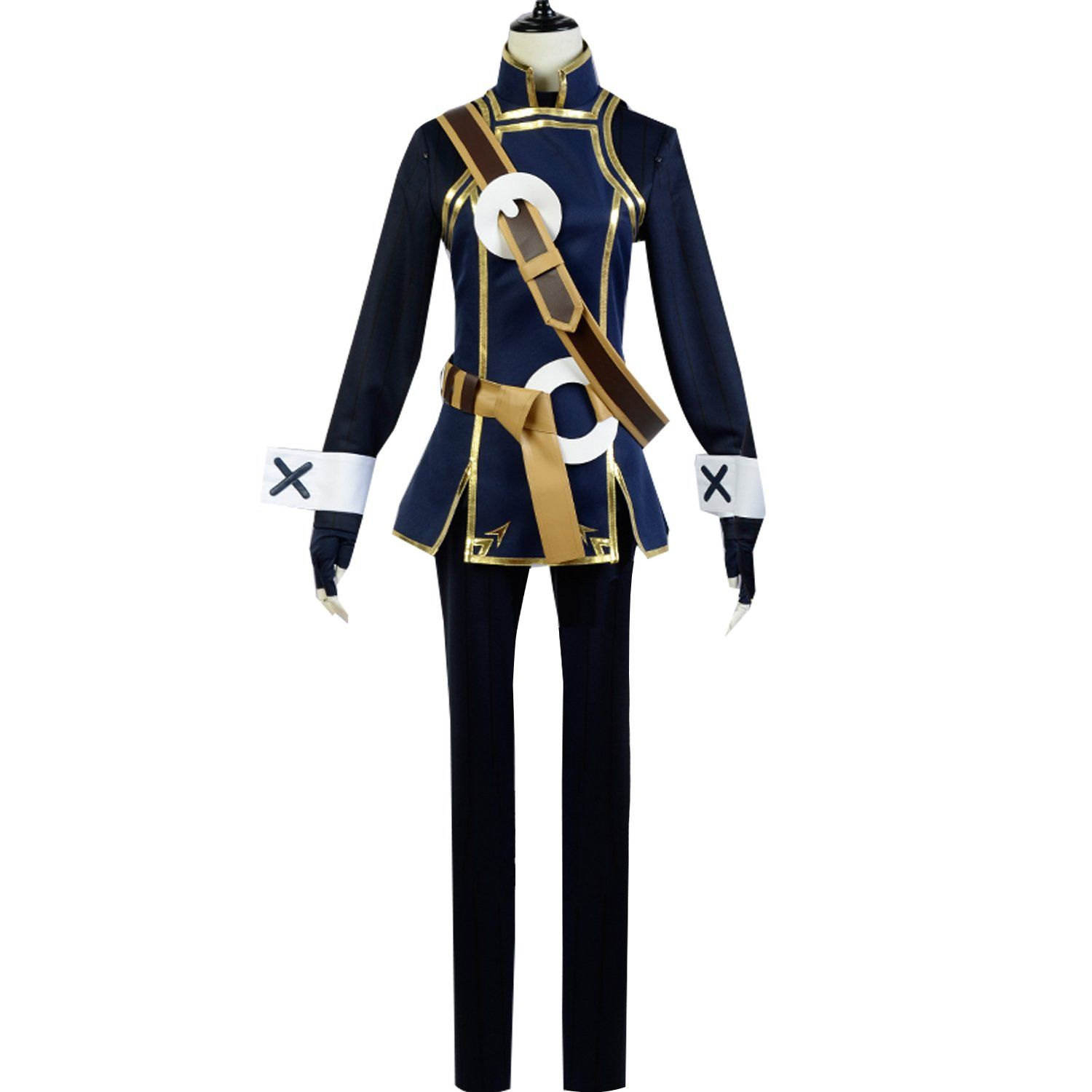 Anime lucina cosplay costume battle uniform outfit