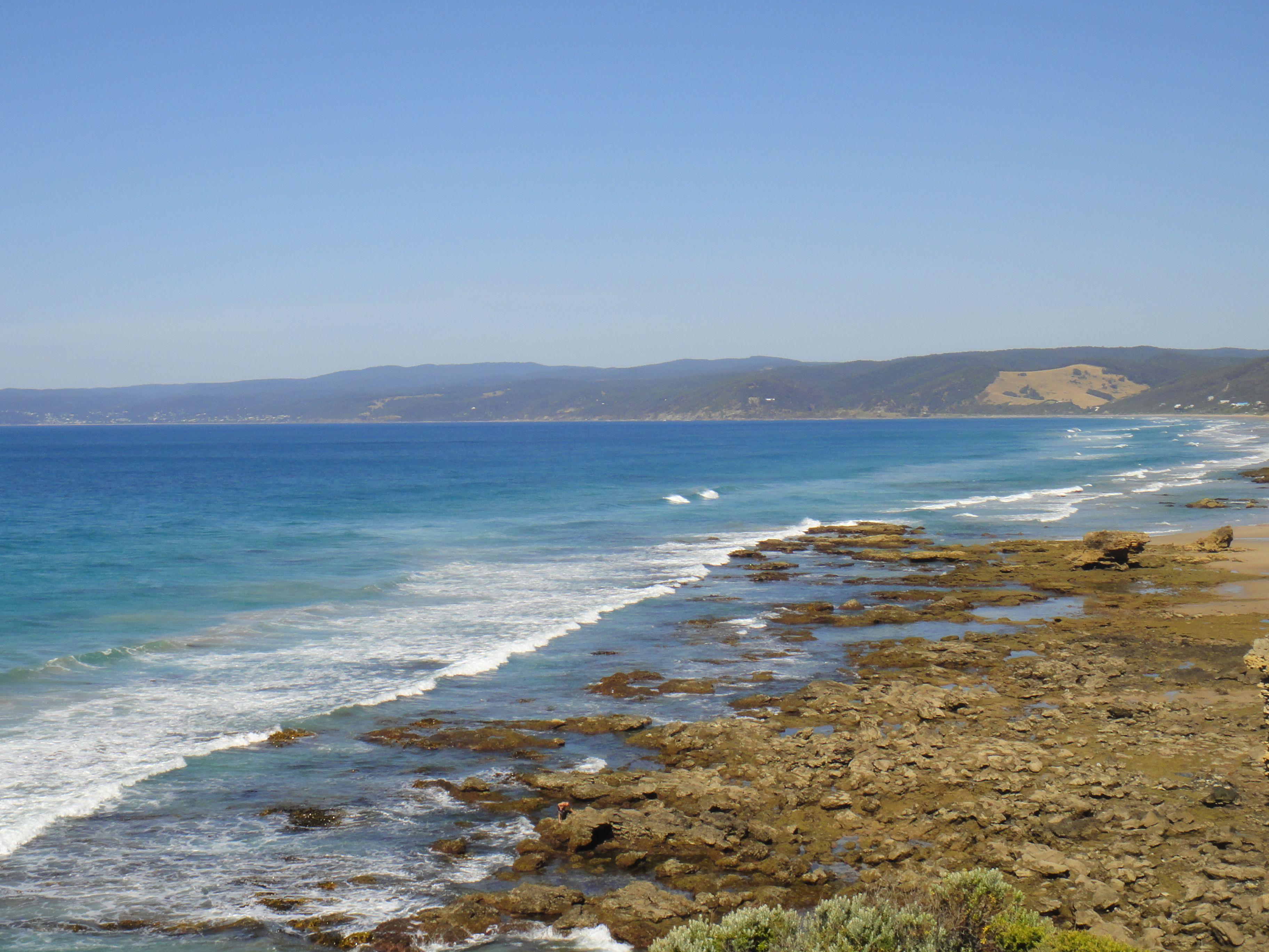 the great ocean rd-Australia.  definitely a must