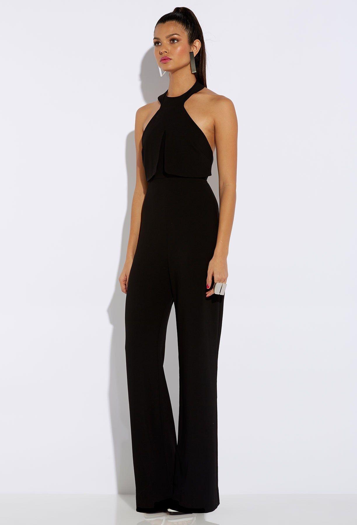172380848e1 Awesome Black Jumpsuit   Classy Black Jumpsuit