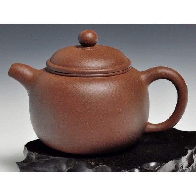 yixing teapot, di cao qing clay - bao zhun - 220ml