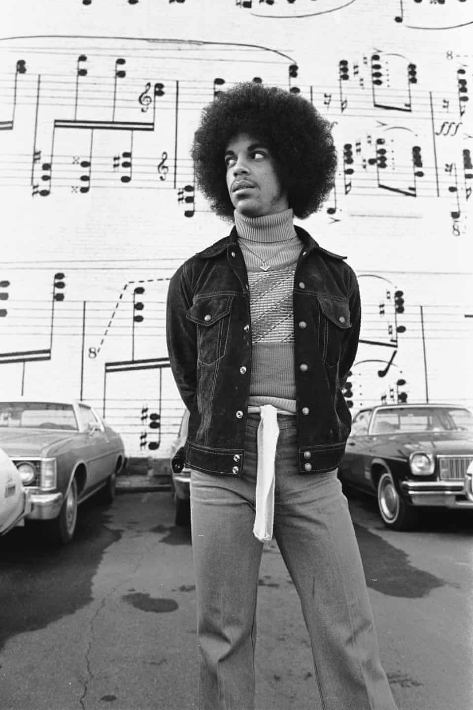 Before the purple rain: Prince in 1970s Minneapolis – in pictures