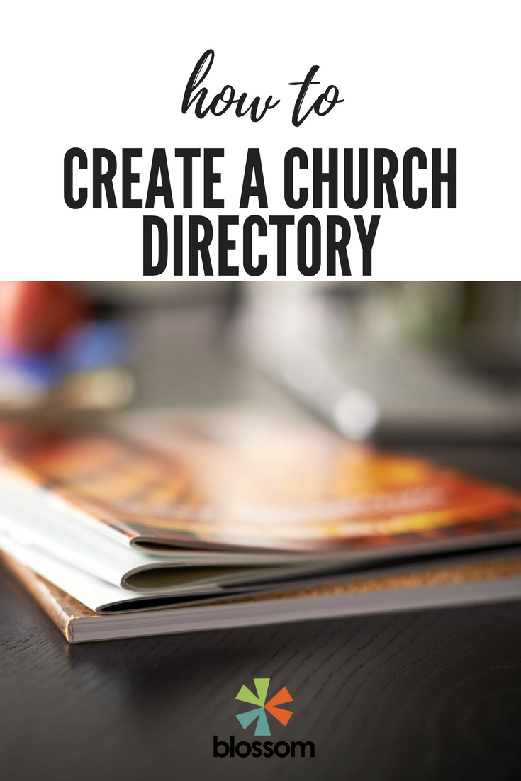 How To Create A Church Directory Blossom Church Template Printable Yearbook