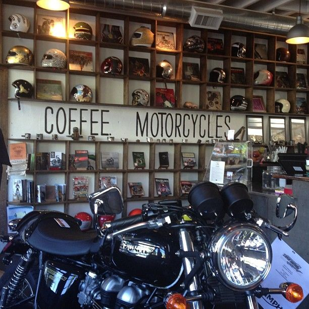 See Motorcycles In Portland OR Shop IdeasCoffee