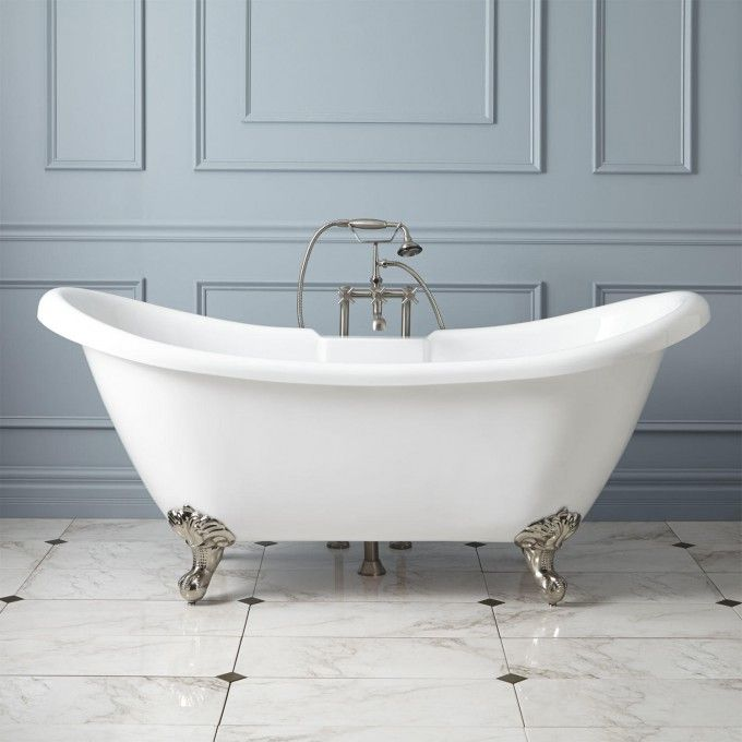 This sight has light weight tubs that you can custom paint!