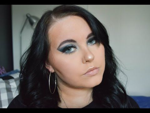 BLUE GLAM | MAKEUP TUTORIAL | MAGDALENA - YouTube