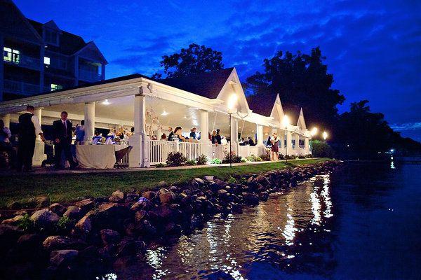 Fresh Wedding Reception Halls Near Me: Bay Pointe Inn Wedding By K. Holly Photography + Epic