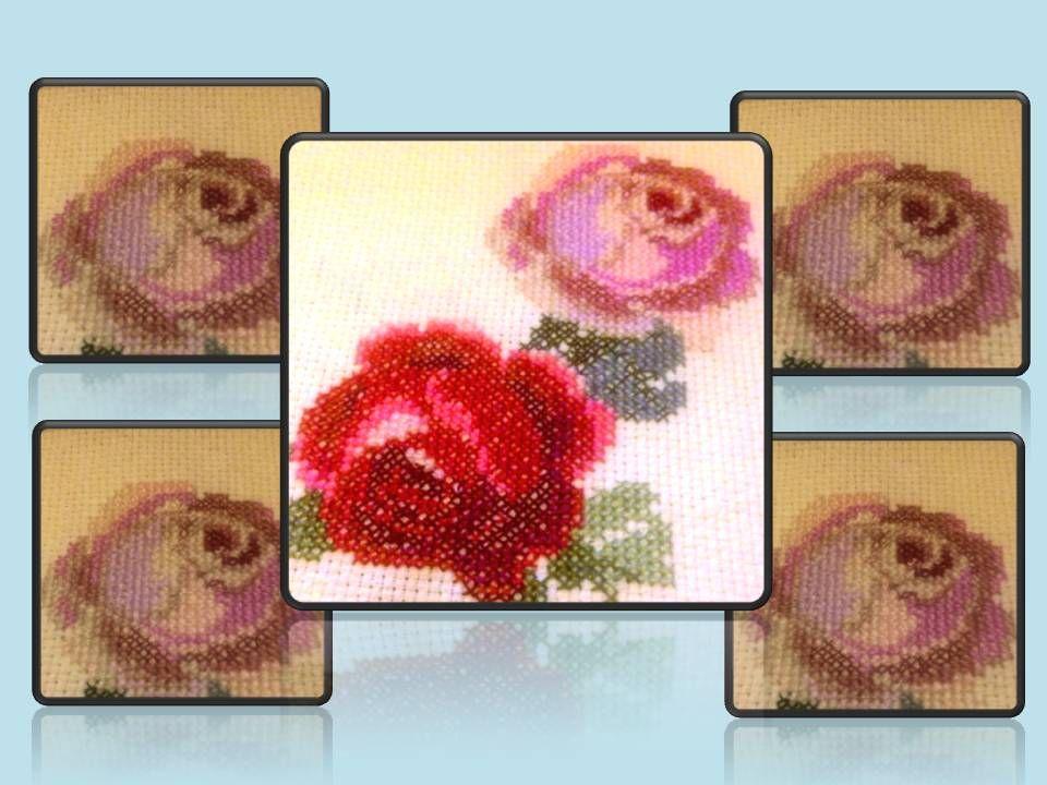 Victorian Roses - progress