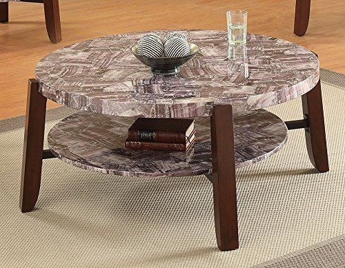 ACME Furniture 80955 Lilith Coffee Table Faux Marble U0026 Cherry Review  Https://bestsofatablereviews