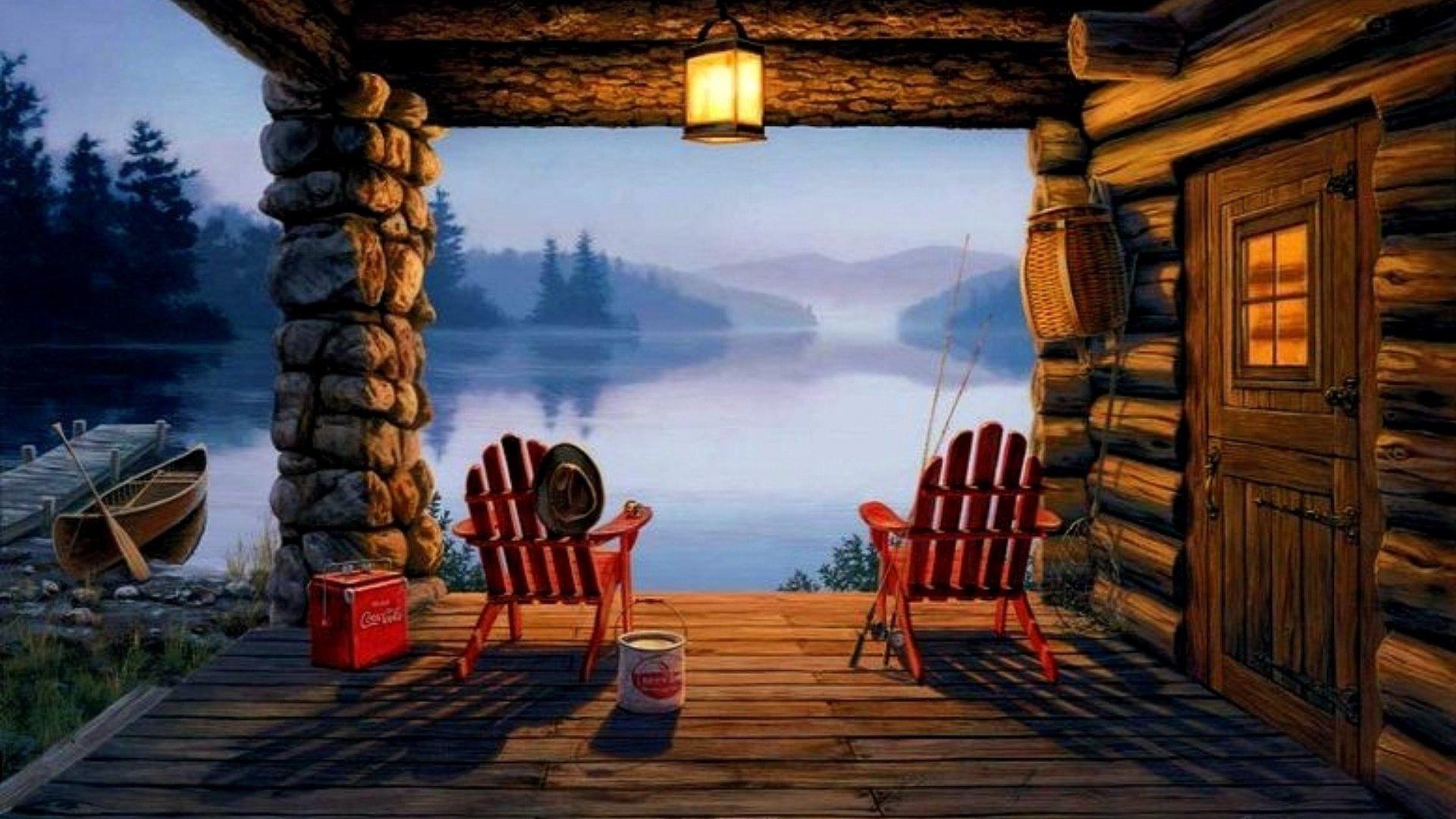 40+ Log Cabin Wallpapers - Download at WallpaperBro ...