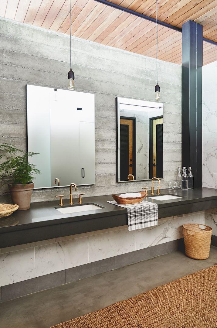 No Sleeping Bags Required Glamping At Autocamp Russian River Elegant Bathroom Design Bathroom Interior Design