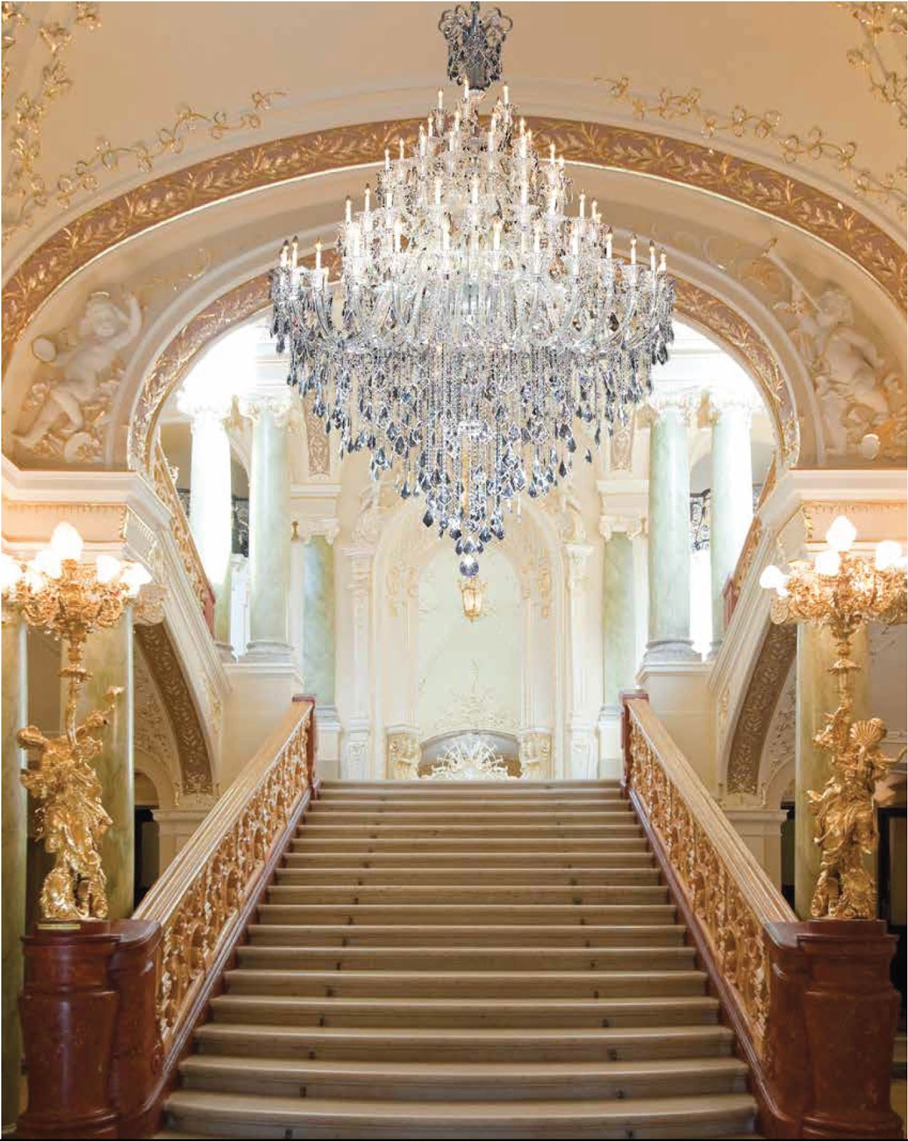 Crystal foyer chandeliers beautiful foyer chandeliers for a grand crystal foyer chandeliers beautiful foyer chandeliers for a grand staircase chandelier lightingdesign aloadofball Image collections
