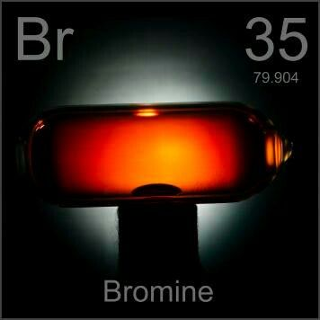 35 Br - Bromine The Elements Pinterest Periodic table - copy bromine periodic table atomic number