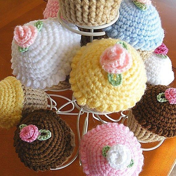 Magdalena acerico alfiletero de Cupcake por CrystalCreates2001