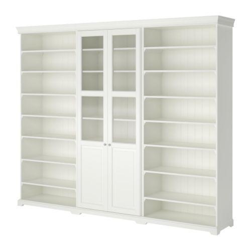 LIATORP Storage combination IKEA Cornice and plinth rail help create ...