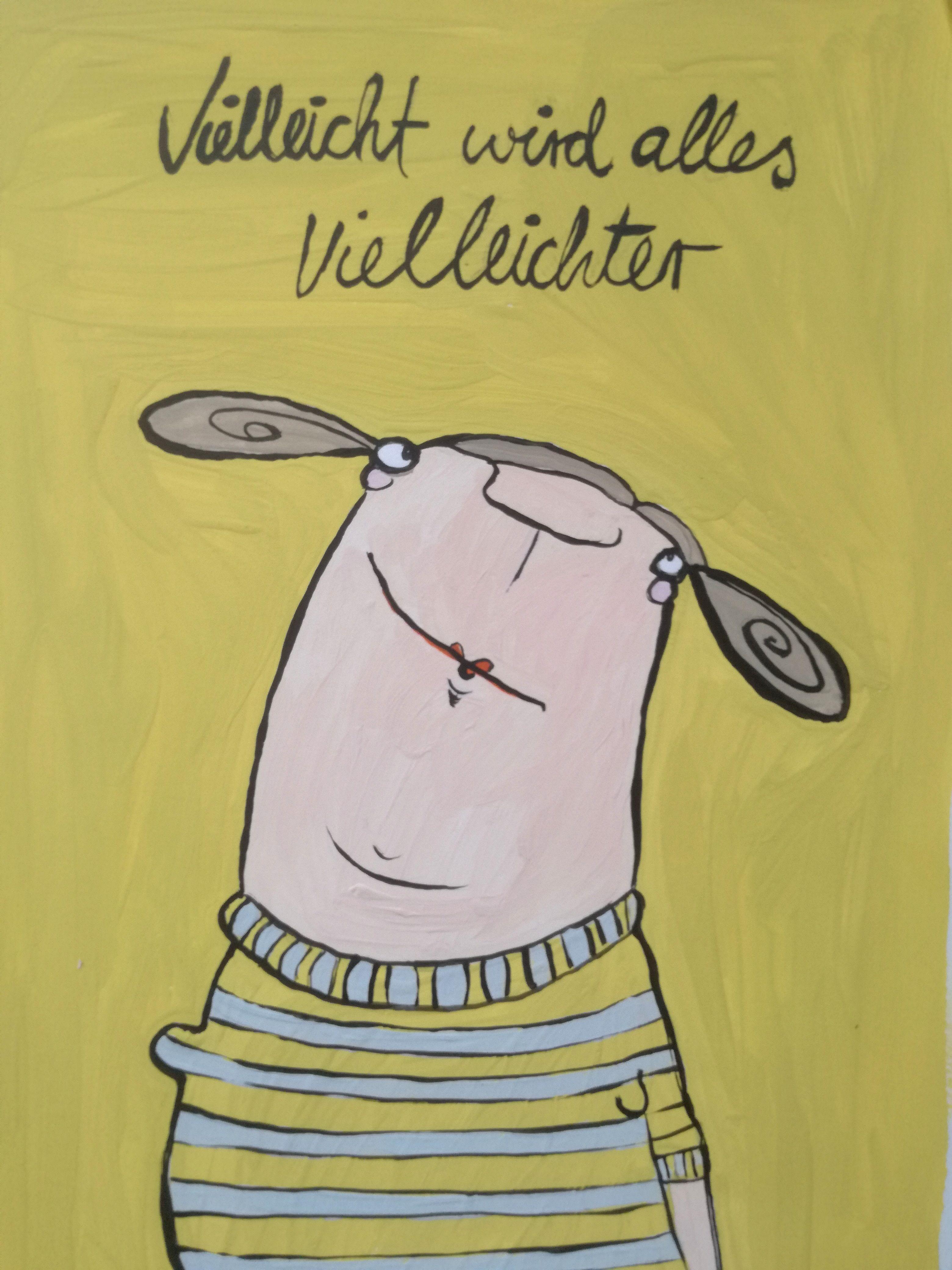 Photo of Illustration Postkarte Postkarte Etsy Shop Kittiekatstudio Mutmacher lustig p