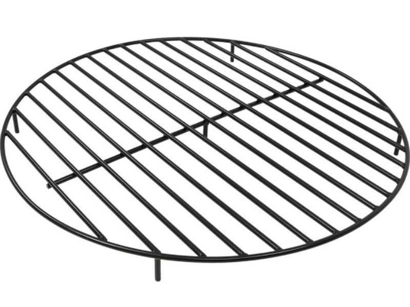 Round Steel Outdoor 40 Inch Wood Burning Fire Pit Grate In Black Firepitgrate Fire Pit Grate Outdoor Fire Wood Burning Fire Pit
