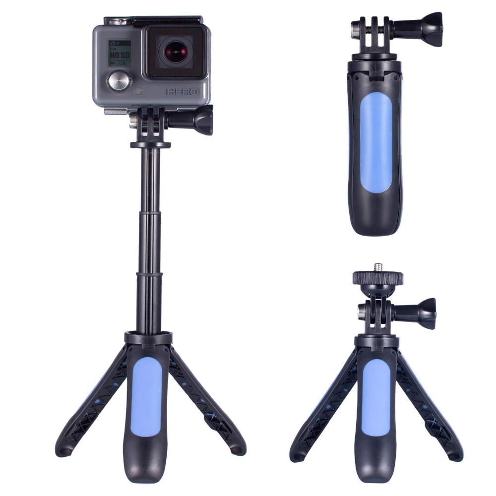 Boquite Selfie Stick Durable Flexible Adjustable Tripod for Digital Camera Action Cameras Smartphone Tripod Stand