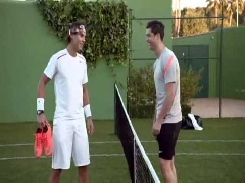 f09429632 Cristiano Ronaldo vs Rafael Nadal Comercial Nike