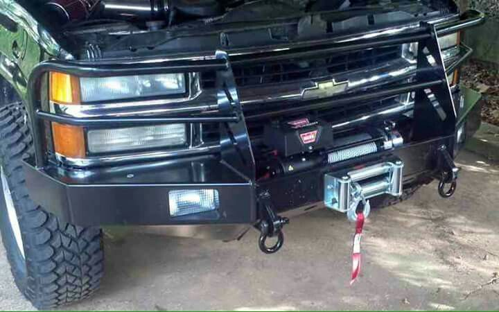 Tahoe Bumper Truck Bumpers Winch Bumpers Chevy Suburban