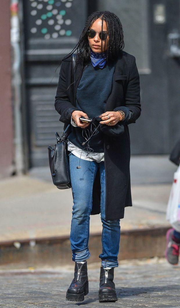 11 Looks da Zoe Kravitz Por Aí - Fashionismo #zoekravitzstyle