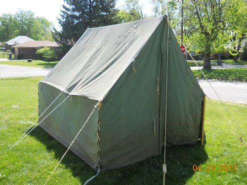 Canvas used boy scout tent & Canvas used boy scout tent | Tents and Canvases