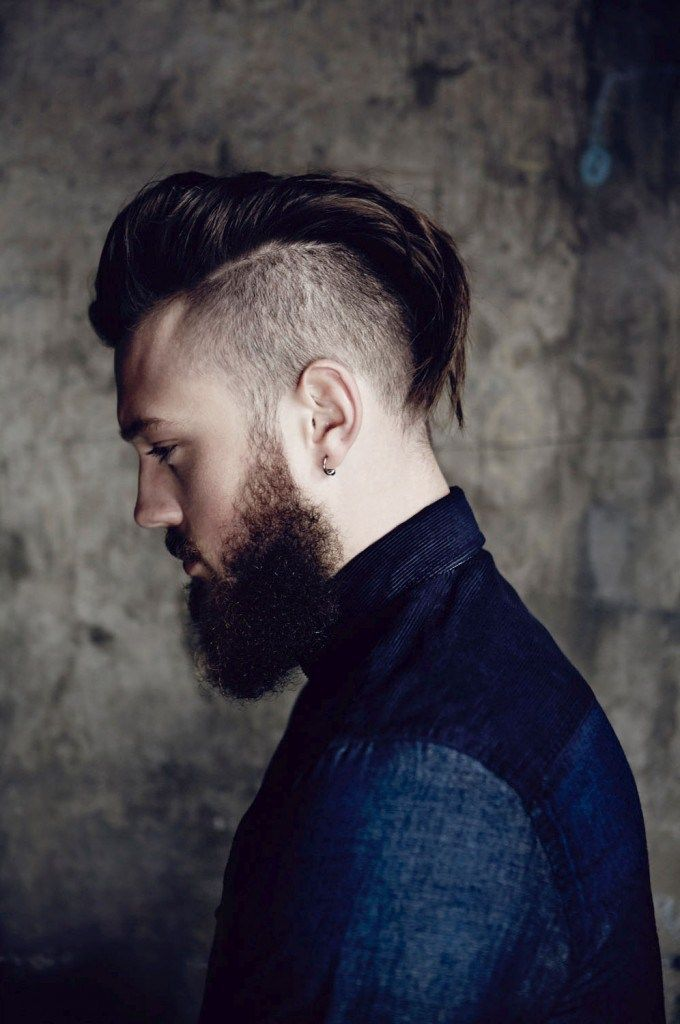 15 Funky And Short Faux Hawk Hairstyle Beard Look Book Mohawk Hairstyles Men Mohawk For Men Cool Hairstyles For Men