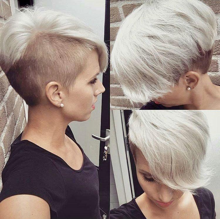 Jolandalunenborg Short Wedge Hairstyles Pinterest Undercut