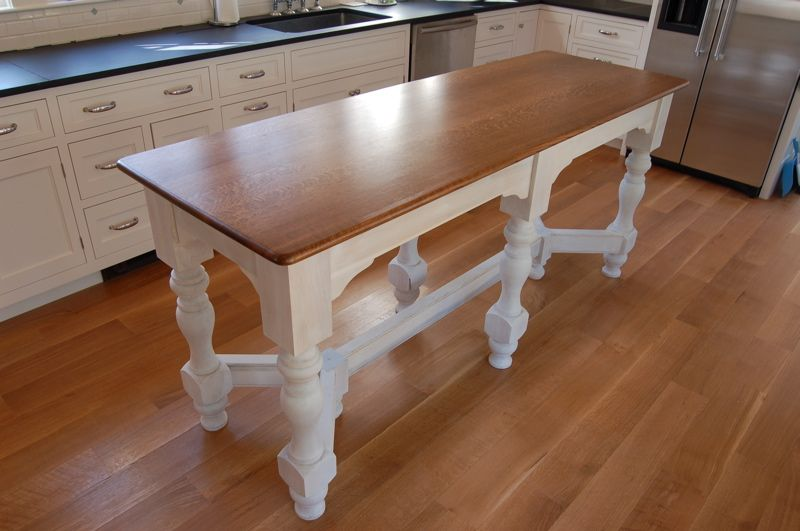 Kitchen Island Table But I Want It For A Craft Table And