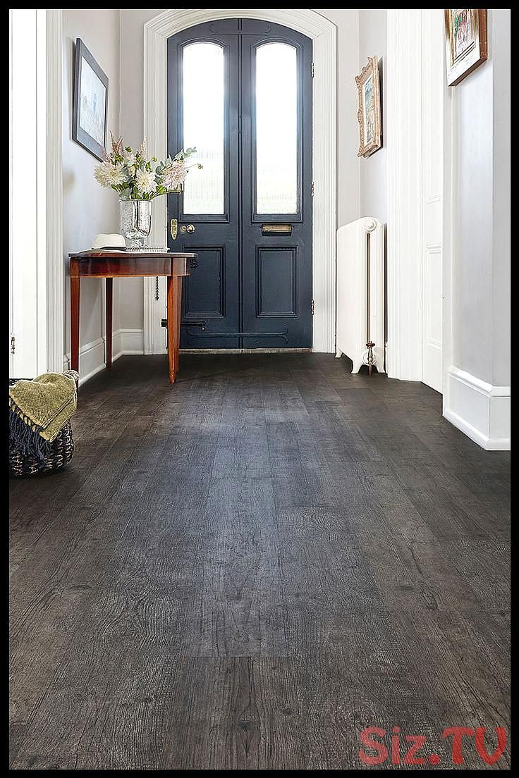 With a deep smoky grey tone and a grain packed full of charm this woodeffect vinyl plank flooring has a striking vintage look that will make a bold With a deep smoky grey...