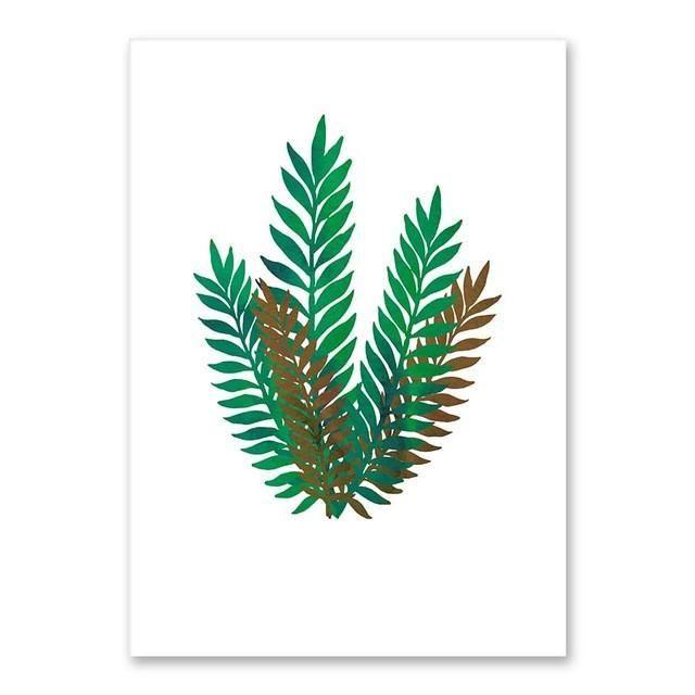 Tropical Plant Canvas