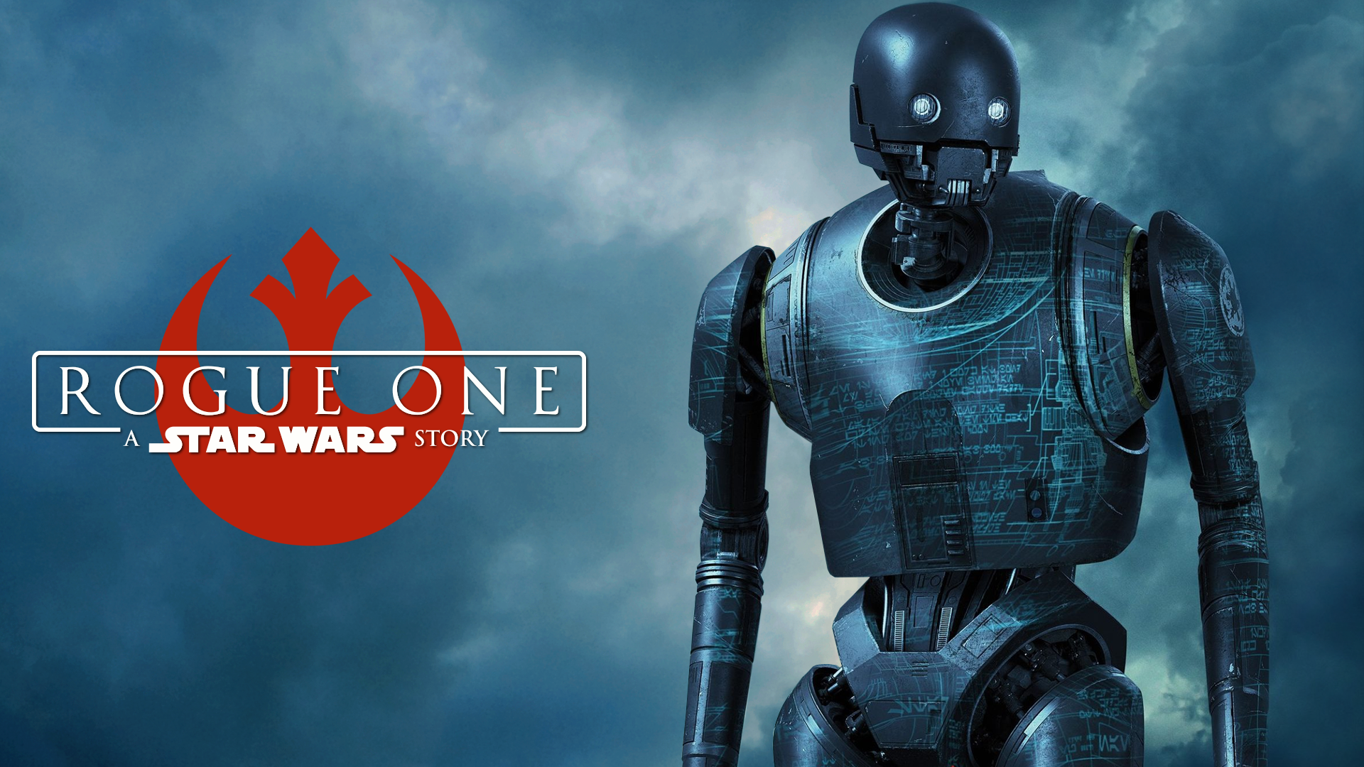 Star Wars Rogue One Wallpaper: Rogue One Wallpaper (K-2SO 2) By Spirit--Of-Adventure On