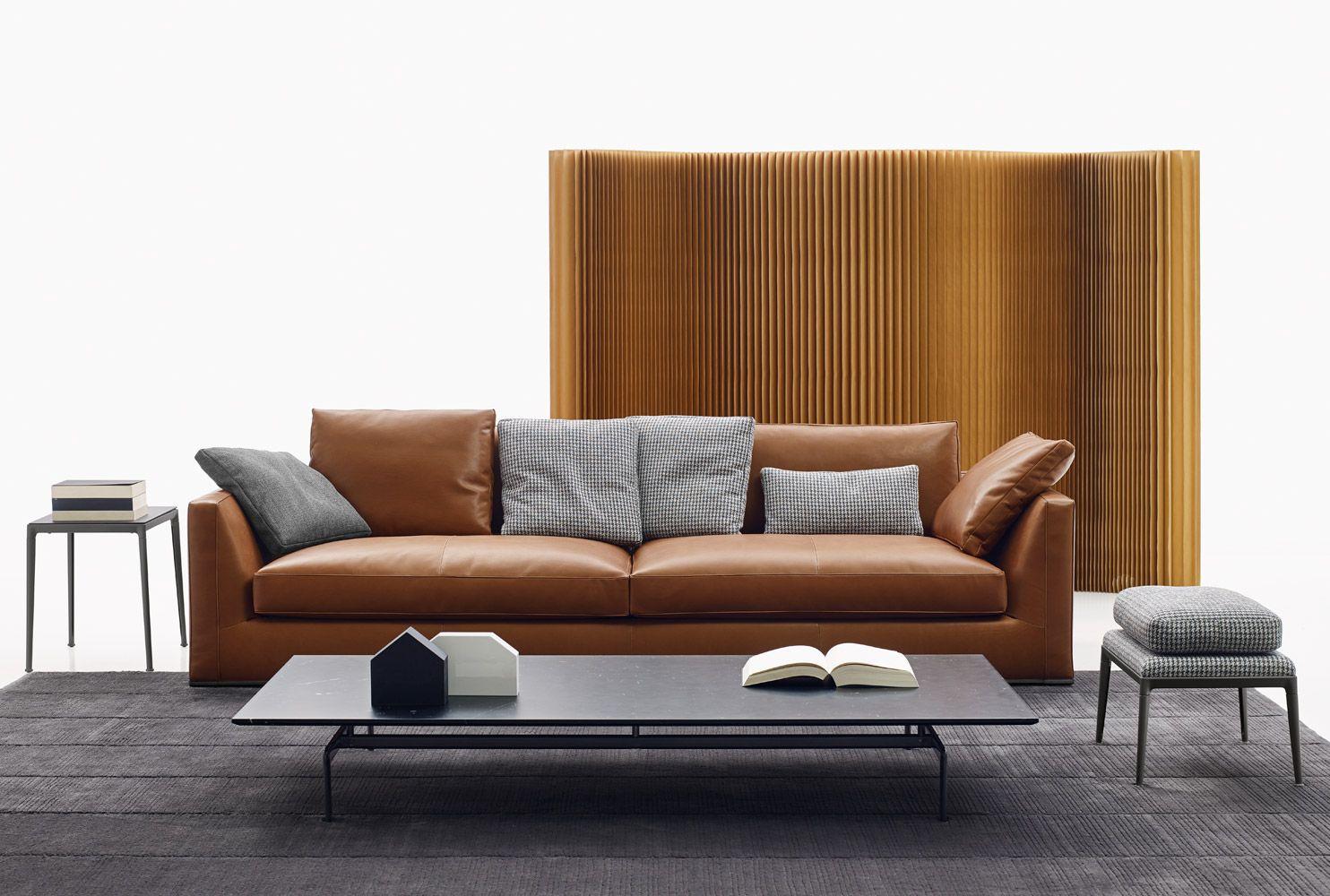 Sofa: RICHARD - Collection: B&B ITALIA - Design: Antonio Citterio ...