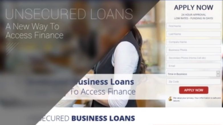 Get Unsecured Business Loans Today Business Loans Loan Application Unsecured Loans