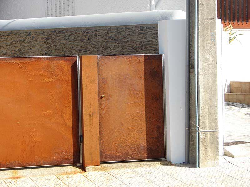 Image Result For Corten Door