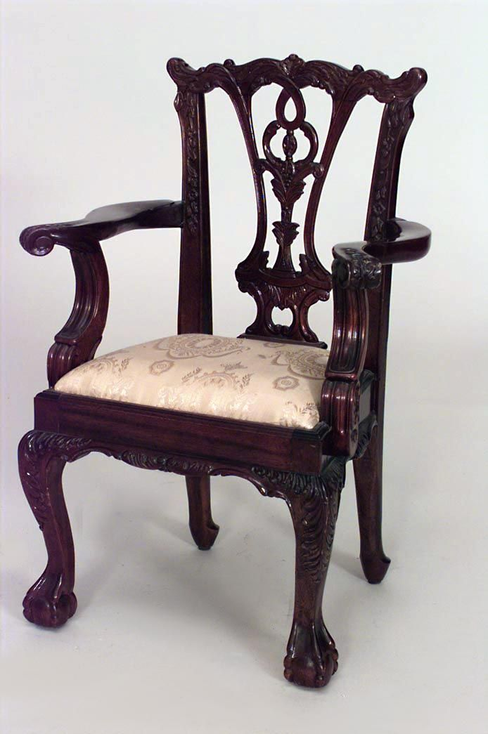 English Chippendale Misc Furniture Child S Furniture Mahogany Chippendale Furniture Chair Chippendale Chairs