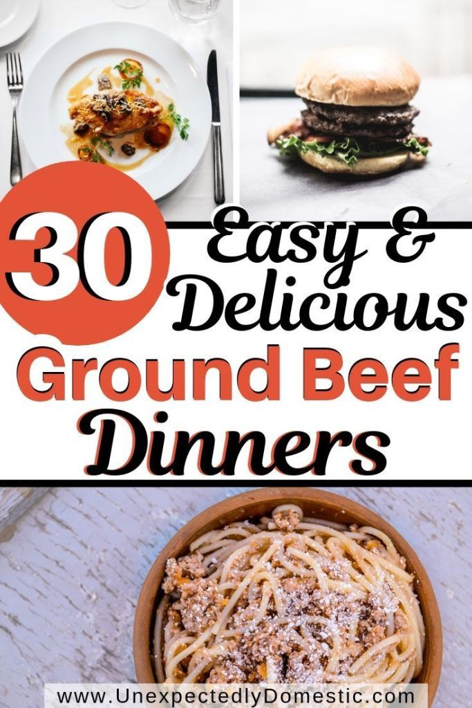30 Delicious Ways to Use a Pound of Ground Beef images