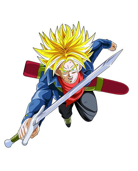 Dragon Ball Super - Mirai Trunks Super Saiyan