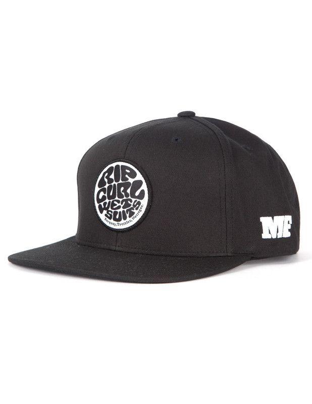 8f0cbfb361e Rip Curl MF Snapback Hat in Black Mick Fanning