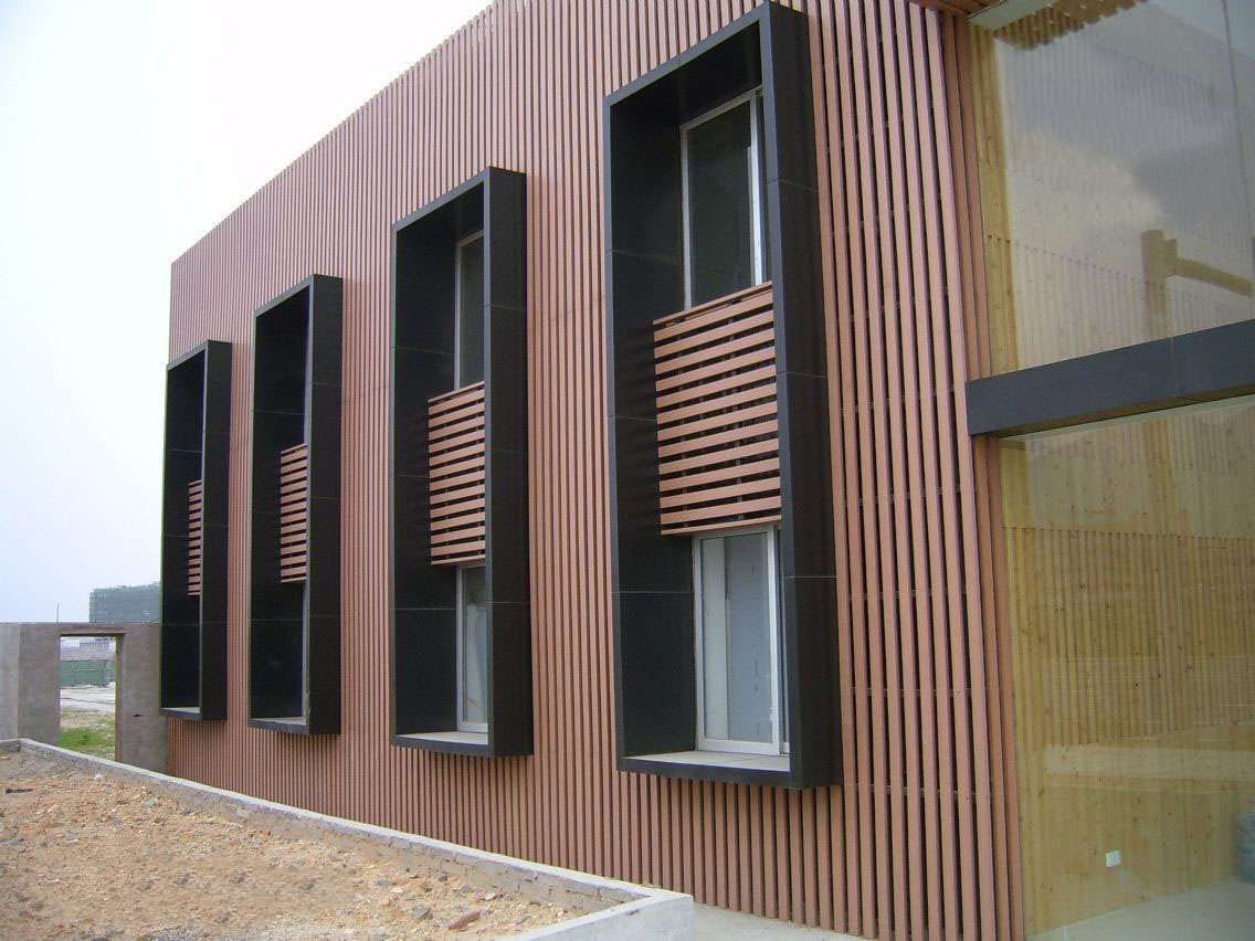 Decoration exterior wpc bamboo wall panel WPC