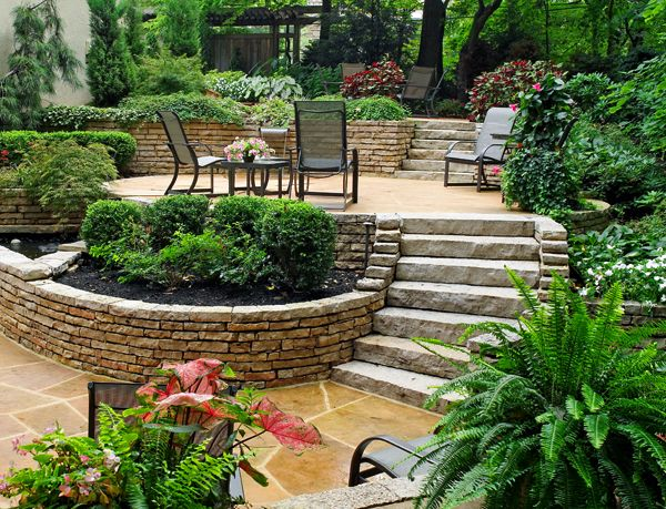 Wood Landscape Company located in Hilliard OH provides custom residential  and commercial landscaping in Columbus Ohio. - Wood Landscape Services Will Be One Of The Landscape Designers At