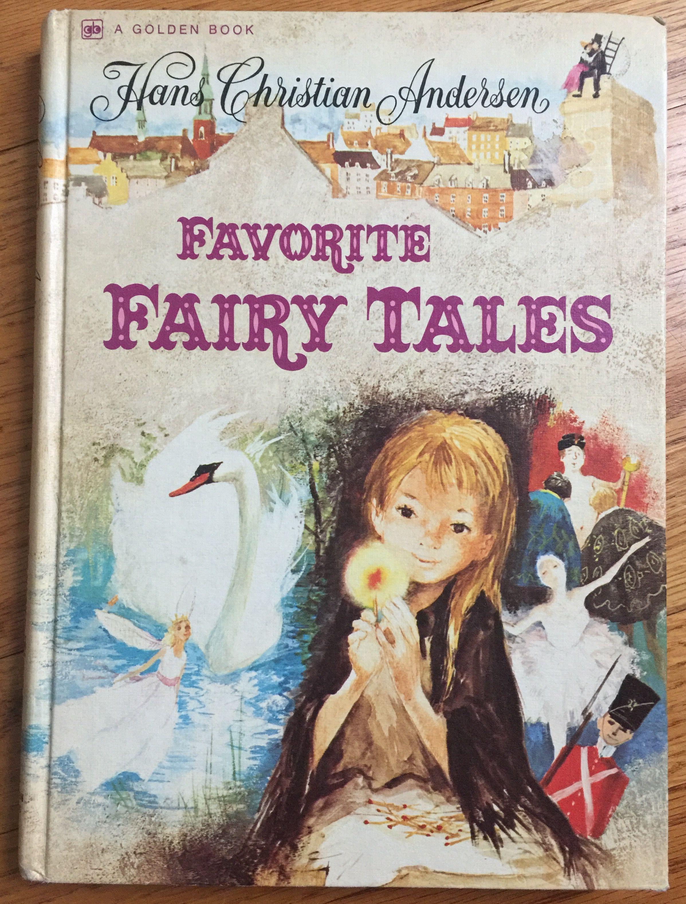 Vintage 1970s Childrens Book Hans Christian Anderson Etsy Fairy Tales Hans Christian Anderson Hans Christian